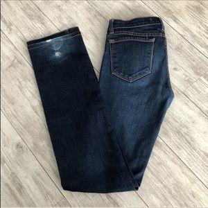 J Brand Cigarette Straight Fit Jeans